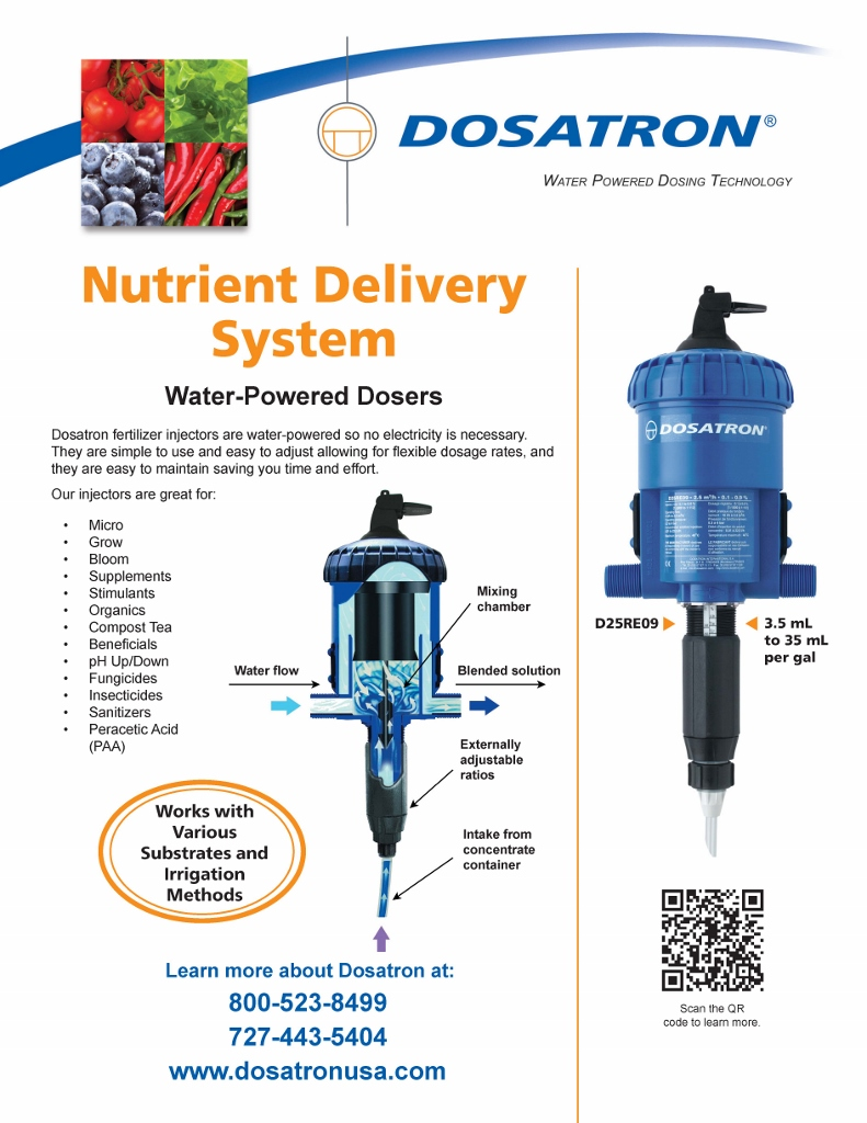 All Purpose Nutrient Injectors w/ Sch 80 Union Kit